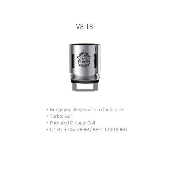 SMOK TFV8 Cloud Beast T18 Replacement Coils