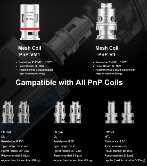 VOOPOO PNP M1 Coil for Vinci | 0.45ohm